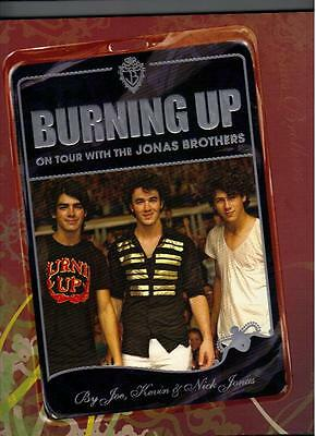 "Jonas Brothers ""Burning Up"" Hardcover Book"