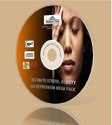 Ultimate Stress, Anxiety, and Depression Mega Pack - MP3, Guides and More! CD