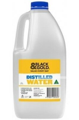 Distilled Water 2 Litres - Free Post