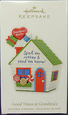 Good Times at Grandma's~Spoil 'em Rotten & Send 'em Home!~2010~Hallmark~MIB