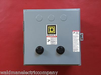 New Square D 8810Sbg4V02S : 2 Speed Starter 600Vac 18 A Nema