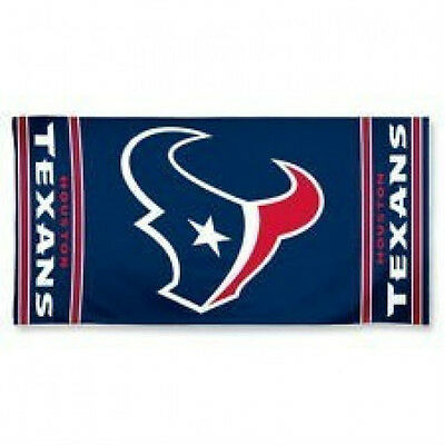 "Houston Texans 30"" X 60"" Beach Towel New & Officially Licensed"