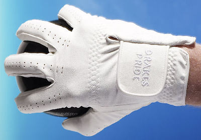 Drakes Pride Synthetic White RH Gents / Ladies Bowls Glove - from £7.45