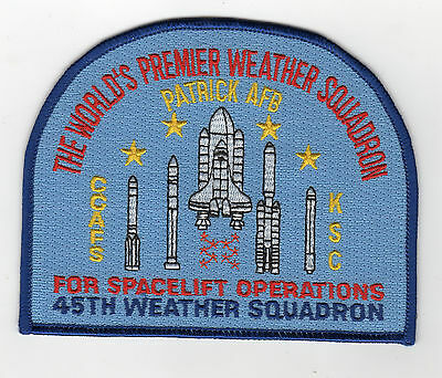45th Weather Squadron - Patrick AFB BC Patch Cat. No. C6247