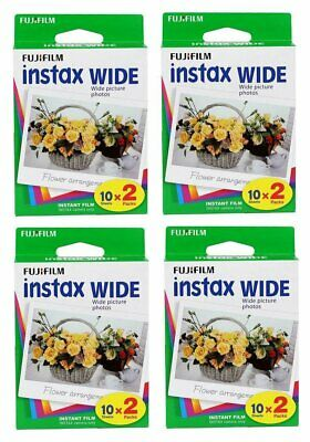 80 Prints FujiFilm Polaroid Fuji Instax Wide Film,80 Instant Photos 210 200 100