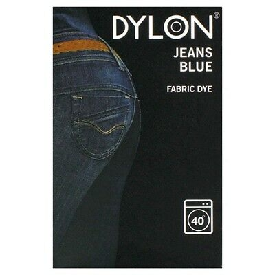 Dylon 200g Jeans Blue Machine Fabric Dye - FREE P&P