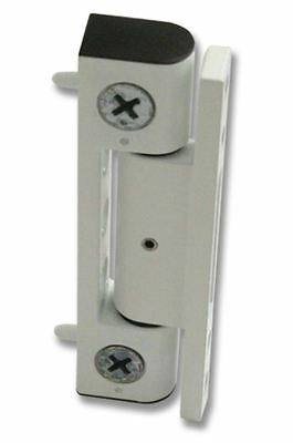 UPVC Door Butt Hinge. Available in Flat & Angled, White & Brown. 100mm Hinge