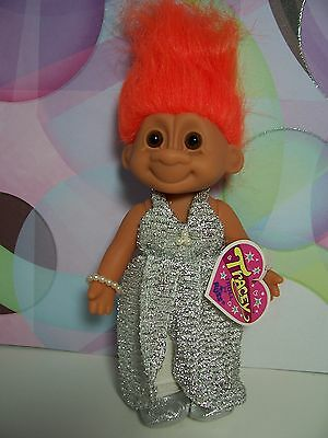 "FASHION TRACEY AT THE BALL - 7"" Russ Troll Doll - NEW IN ORIGINAL WRAPPER"