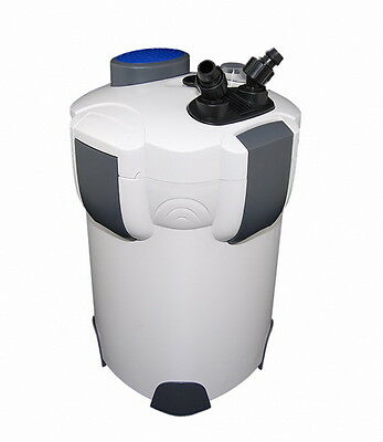 SUNSUN HW303B 4-STAGE AQUARIUM EXTERNAL CANISTER FILTER w/9W UV STERILIZER 370G