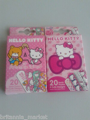 20 Pflaster - Hello Kitty - Steril Verpackt