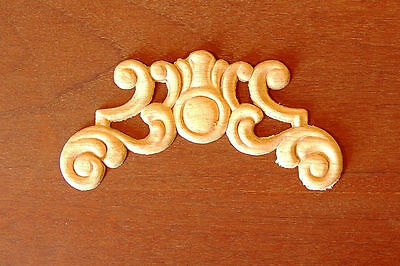 """WOOD EMBOSSED APPLIQUE 2 3//4/""""H X 4 3//4/""""W         HQ110"""