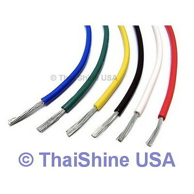 10FT AWG 22 Black Hook-Up Wire (300cm) Solid - USA SELLER - FREE SHIPPING
