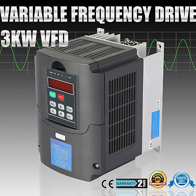 New 3Kw 4Hp Vfd 13A 220V Single Phase Variable Speed Drive Vsd Drive Inverter