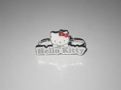 Sanrio Hello Kitty Fancy Double Finger Ring for Women's Girls All Ages NEW!
