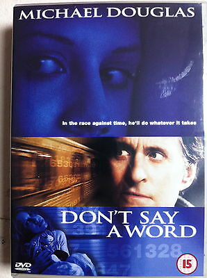 dont say a word 2001 full movie