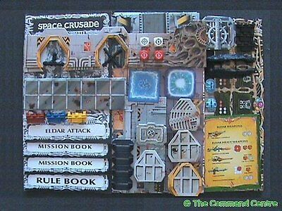Space Crusade Game Parts For Sale Including Expansion Books Warhammer MB Games
