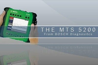 MTS 5200 Labscope Training/ Bosch Scope Training Only / DVD / Manual /  217