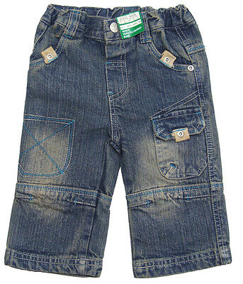 Baby Jeanshose Used Look optik mit verstellbarem Bund f. coole Kids Jeans Kinder