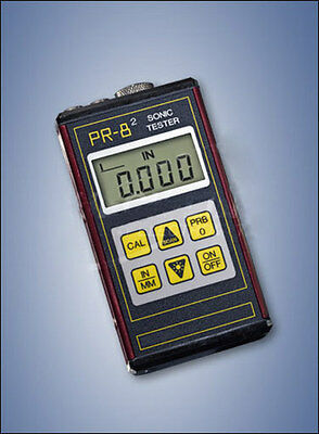 PR-82 Sonic Tester, Range in Steel: 0.63 to 199.99 mm / 0.040 to 1.50 in