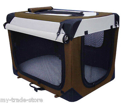 Pocky-Pet Hundetransportbox Transportbox 7 Größen Hunde Hundebox Kennel faltbar