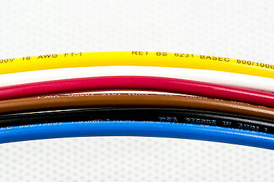 5M 1.5mm Sq. Automotive 21A 12V Tri-Rated Car Wire/Cable - AWG 16