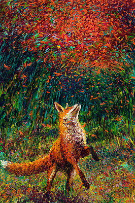 The Fox Home Decor Canvas Print, choose your size.