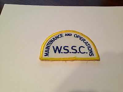 Maintenance and Operation WSSC Patch