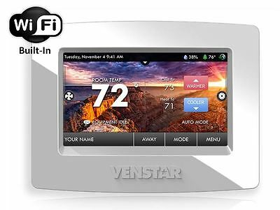 NEW Venstar T7850 ColorTouch Smart Programmable Thermostat w/ Built-in WiFi