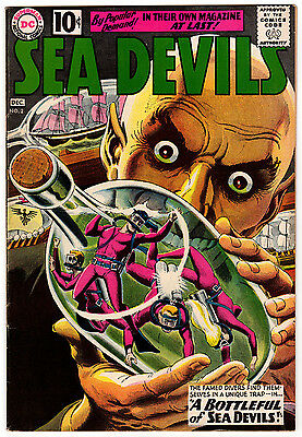 Sea Devils #2 6.5 Off-White Pages Silver Age