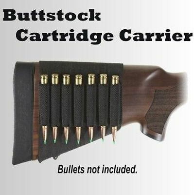 Universal Buttstock Shell Cartridge Ammo Round Holder Carrier Rifle Hunting NEW
