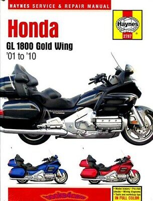 Shop Manual Goldwing 1800 Service Repair Honda Book Gl1800 Haynes Clymer
