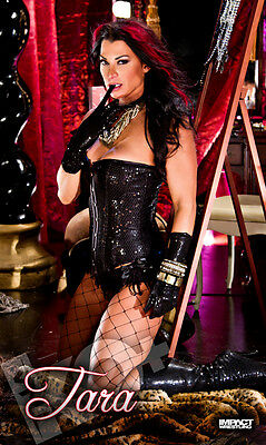 """Official TNA Impact Wrestling Tara """"Moulin Rouge"""" 3ft x 5ft Fabric Banner"""
