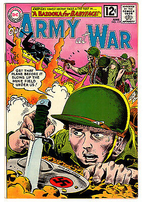 Our Army At War #119 6.0 Off-White To White Pages Silver Age Sgt. Rock