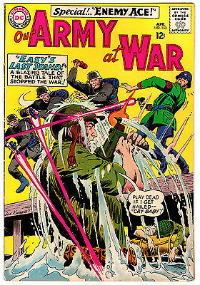 Our Army At War #153 4.5 Off-White To White Pages Silver Age Sgt. Rock
