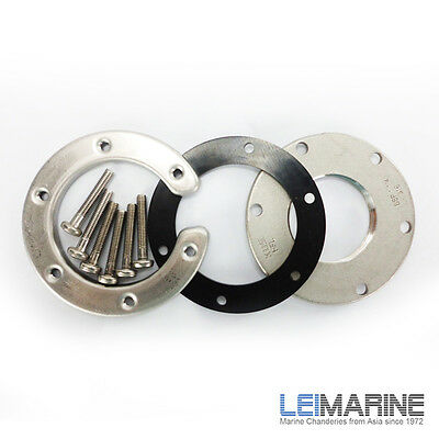 KUS Stainless Steel Mounting Flange Kit to suit S3H 1 1/4''BSP Car Boat Marine