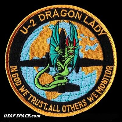 U-2 Dragon Lady #1 - In God We Trust - Others We Monitor - Usaf - Nro Patch