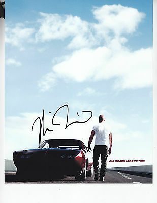 Vin Diesel - FAST AND FURIOUS 6 - signed 8x10