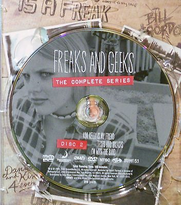 FREAKS AND GEEKS-THE COMPLETE SERIES - DISC 2 ONLY - REPLACEMENT DISC