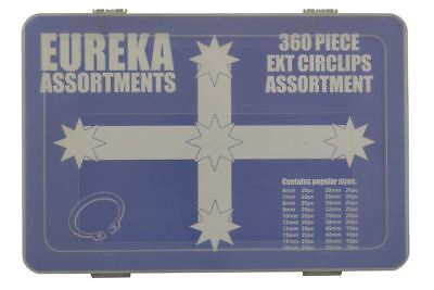 Eureka 360 Piece Circlip External Kit