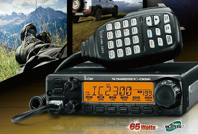 ICOM IC-2300H #10 EXP01 VHF FM Automatic TRANSCEIVER 136-174mhz NEW!