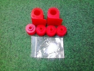 Opel Calibra Stabilager PU 22mm rot Vectra A Astra F Polyurethan Buchsen Lager