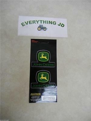 John Deere Logo Decal Sheet (2 Decals/Sheet) - LP21598