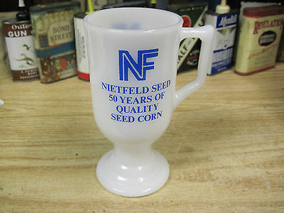 NIETFELD seed co corn advertising MELROSE MINNESOTA cup mug