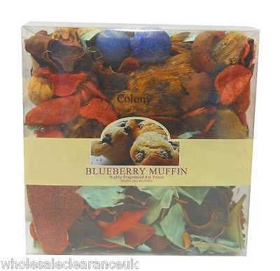 Joblot Of 20 Colony Blueberry Muffin Potpourri (Ch 2122) Wholesale Clearance