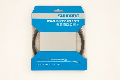 Genuine Shimano SP41 Gear Cable Set Road/MTB. PTFE / Stainless Steel All Colours