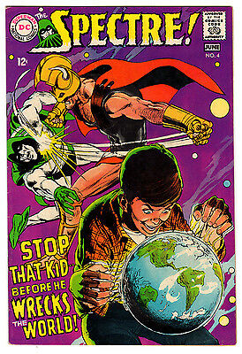 Spectre #4 7.0 Off-White Pages Silver Age Neal Adams