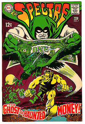 Spectre #7 8.0 Off-White To White Pages Silver Age