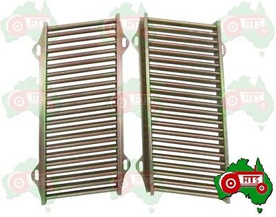 Front Pair of Grill Grille Panels Ferguson Tractor TE20 TEA20 TED20 TEF20
