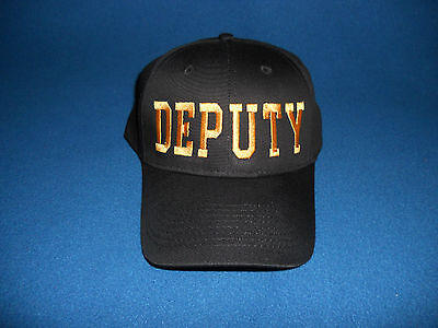 DEPUTY Hat  Sheriff  Law Enforcement  Security