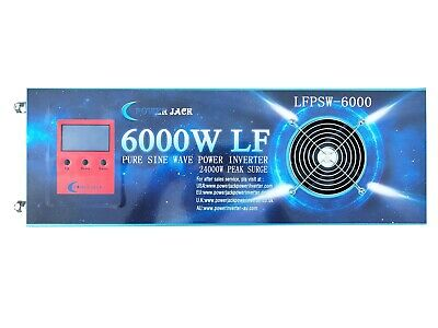 LCD 15000W LF Pure Sine Wave Power Inverter DC 24V to AC 240V, Charger/ UPS